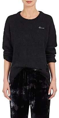 Raquel Allegra Women's Embellished Mohair-Blend Sweater