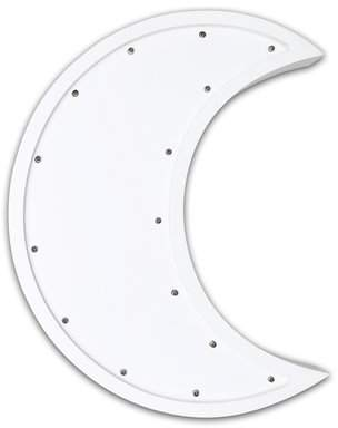 The Peanut Shell Moon Marquee Wall Light