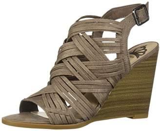 Fergalicious Women's Howdy Wedge Sandal