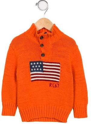 Polo Ralph Lauren Boys' Intarsia Knit Sweater