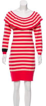 Sonia Rykiel Striped Sweater Dress