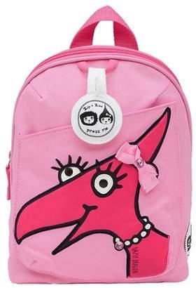Babymel Zip & Zoe Mini Kids' Backpack & Safety Harness - Daisy Dragon Face