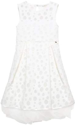 Polka Dot Devore Tulle Party Dress
