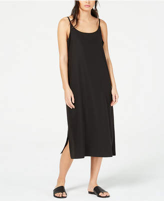 Eileen Fisher Tencel and Recycled Polyester Slip Dress, Regular & Petite