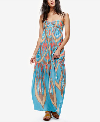 Free People Strapless Maxi Dress $148 thestylecure.com