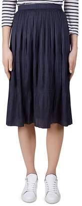 Gerard Darel Agathe Plissé Skirt