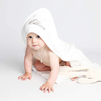 DCaro Personalised White Hooded Baby Towel