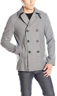 Armani Exchange A|X Men's Double Breasted Coat
