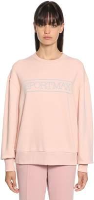 Sportmax Megaton Stretch Cotton Sweatshirt