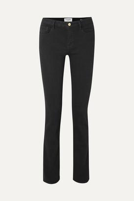 Frame Le Mini Boot Mid-rise Bootcut Jeans - Black