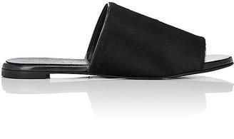 Robert Clergerie Women's Gigy Calf Hair Slide Sandals $495 thestylecure.com