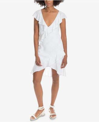 Max Studio London Ruffle-Trim V-Neck Dress, Created for Macy's