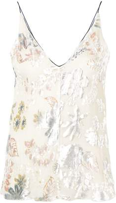 Forte Forte embroidered sleeveless top