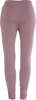 Cushnie Nero Lace-Side Legging