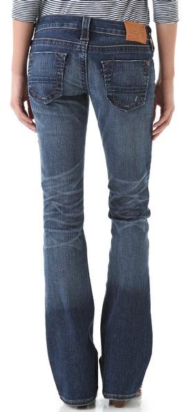 True Religion Tony Slim Boot Leg Jeans