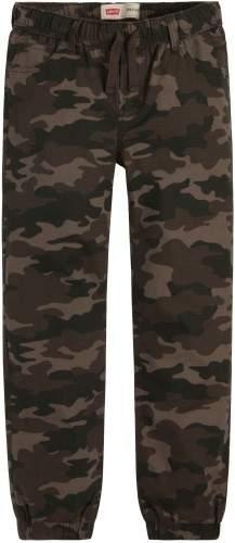 Big Boys Ripstop Camouflage Jogger Pants