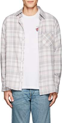 Rag & Bone Men's Checked Cotton Flannel Fit 3 Shirt