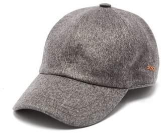 Ermenegildo Zegna - Cashmere Baseball Cap - Mens - Grey