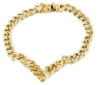 Fallon Jagged Track Bracelet