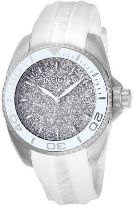 Invicta Angel Womens White Strap Watch-22702