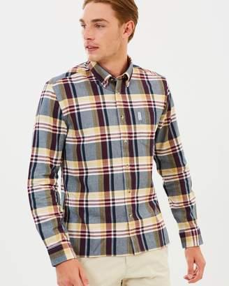 Ben Sherman LS Brushed Crepe Check Shirt