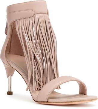 Alexander McQueen Light beige fringes sandals