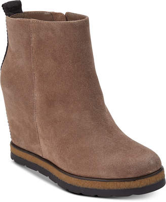 DKNY Daisy Wedge Booties