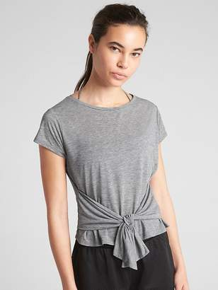 Gap GapFit Breathe Air Tie-Front T-Shirt