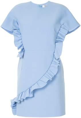 MSGM ruffled shift dress