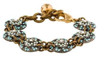 Lulu Frost Crystal Link Bracelet $75 thestylecure.com