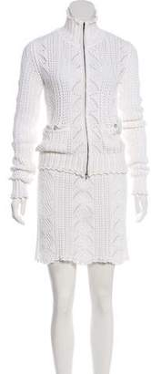 Chanel Knit Skirt Suit