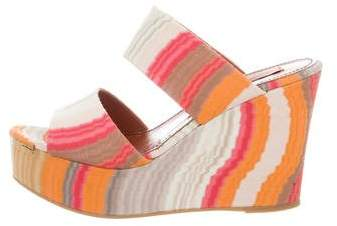 Missoni Platform Wedge Sandals