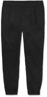 McQ Tapered Cotton Drawstring Trousers