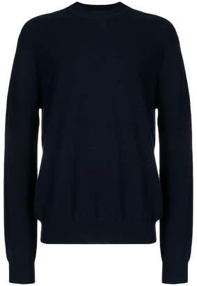 Jil Sander round neck fine knit sweater