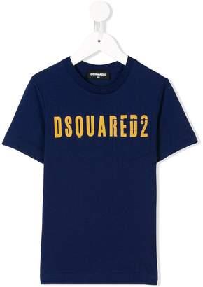 DSQUARED2 logo print pocket tee