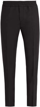 Acne Studios Ryder straight-leg wool and mohair-blend trousers