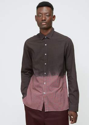 Lanvin Fitted Overdyed Shirt