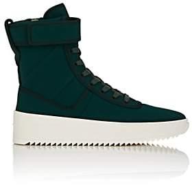 Fear Of God Men's Military Nylon Sneakers - Dk. Green