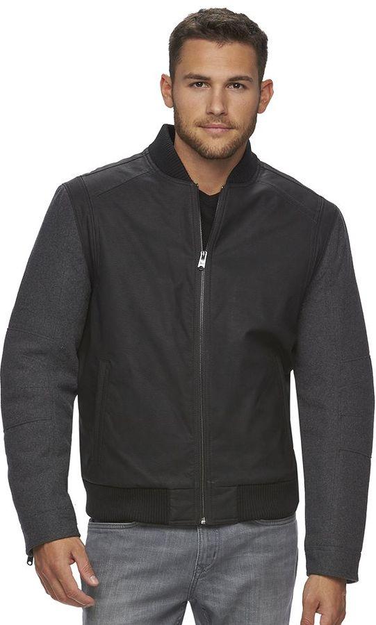Men's Marc Anthony Slim-Fit Varsity Bomber Jacket