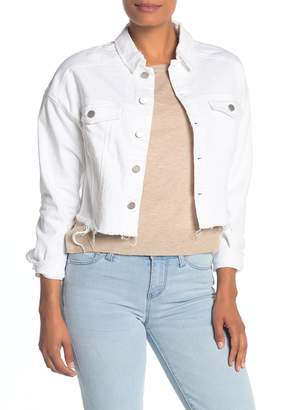 Liverpool Jeans Co Drop Shoulder Cutoff Jean Jacket