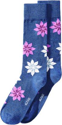 Alfani AlfaTech by Men's Snowflake Socks