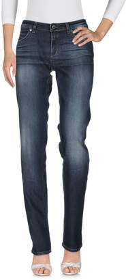 AR+ CAMOUFLAGE AR AND J. Denim pants - Item 42629773