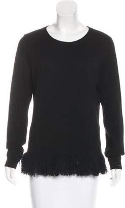 Ralph Lauren Cashmere Fringe Sweater