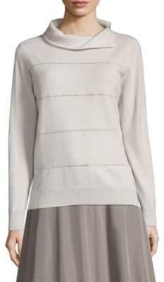 Peserico Split-Neck Sweater