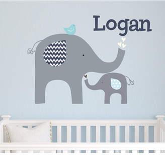 DAY Birger et Mikkelsen Alphabet Garden Designs Elephant Love Wall Decal