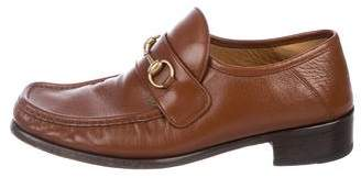 6fc3b39549d Gucci Horsebit Leather Loafers