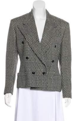 Gianni Versace Vintage Wool Tweed Blazer