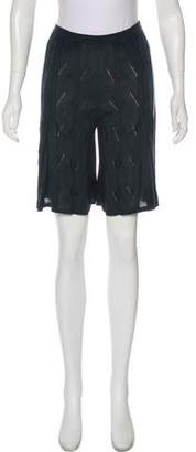 Calvin Klein Collection Silk Knee-Length Shorts