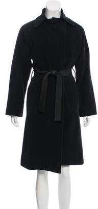 Narciso Rodriguez Wool Belted Coat