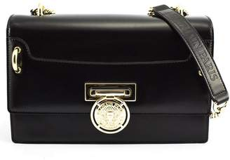Balmain Black Calfskin Bbox 25 Bag.